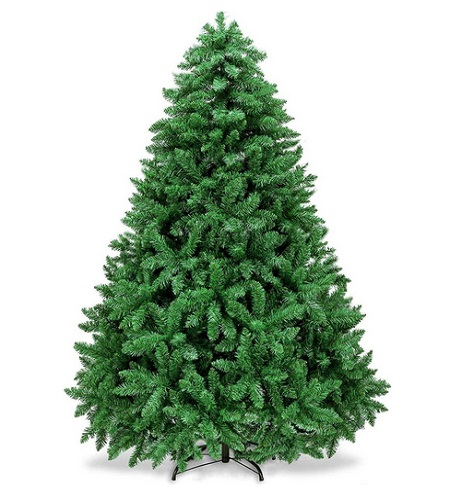 Wasakky Christmas Tree With Lights And Decorations