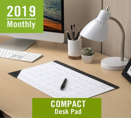 At-A-Glance Monthly Desk Pad Calendar 2019