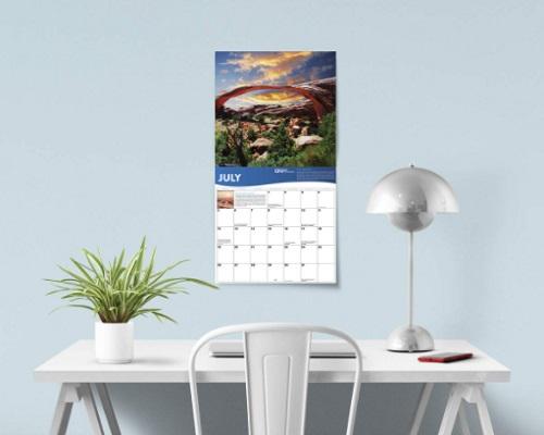2020 National Park Foundation Wall Calendar